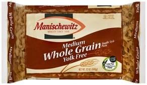 Manischewitz Noodle Style Pasta Whole Grain, Medium