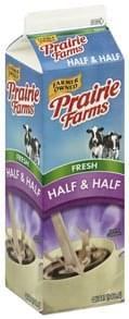 Prairie Farms Half & Half Fresh
