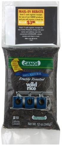 Canoe Freshly Roasted Wild Rice - 12 oz