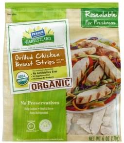Perdue Chicken Breast Strips Organic, Grilled