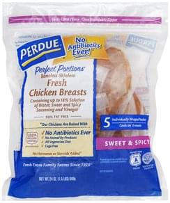 Perdue Chicken Breasts Fresh, Sweet & Spicy, Boneless Skinless