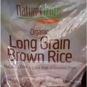 Nature's Truth Rice Organic Long Grain Brown