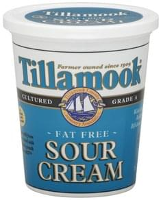 Tillamook Sour Cream Fat Free