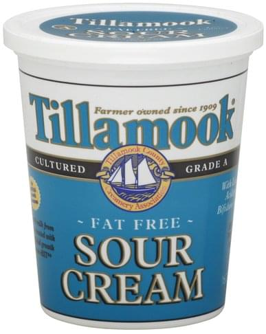Tillamook Fat Free Sour Cream - 16 oz