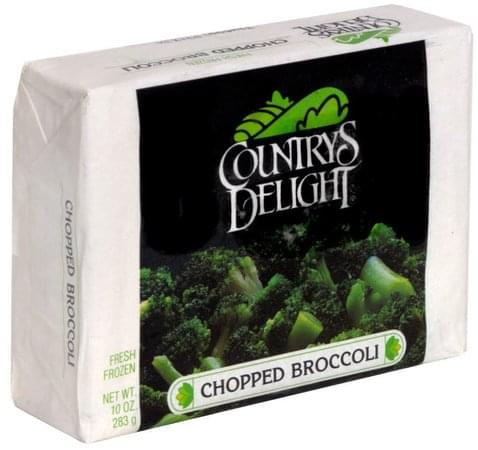 Countrys Delight Chopped Broccoli - 10 oz