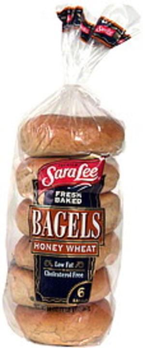 Sara Lee Honey Wheat Fresh Baked Bagels