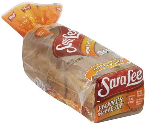 Sara Lee Honey Wheat Bread - 20 oz