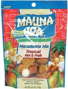 Mauna Loa Macadamia Mix Tropical Nut & Fruit