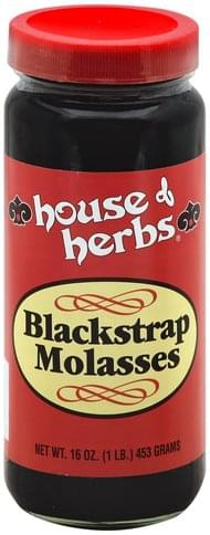 House Of Herbs Blackstrap Molasses - 16 oz