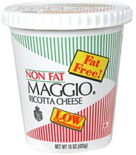 Maggio Fat Free Ricotta Cheese - 15 oz