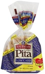 Toufayan Pita Bread Beat Bread, Low Carb