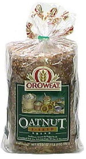 Oroweat Oatnut 3 Seed Bread - 24 oz