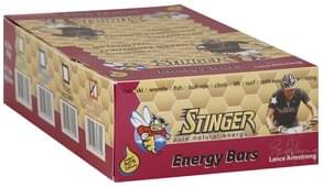 Stinger Energy Bar s, Peanut Butter 'N Honey