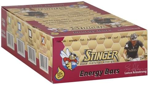 Stinger s, Peanut Butter 'N Honey Energy Bar - 15 ea