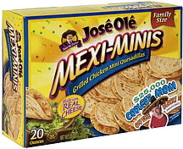 Jose Ole Grilled Chicken Mini Quesadillas - 20 oz, Nutrition