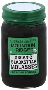 Naturally Healthy Blackstrap Molasses Organic