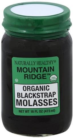 Naturally Healthy Organic Blackstrap Molasses - 16 oz