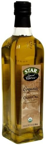 Star Extra Virgin, Organic Olive Oil - 17 oz