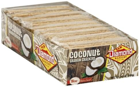 Diamond Bakery Coconut Graham Crackers - 9.5 oz