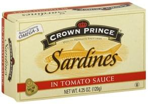 Crown Pre Sardines in Tomato Sauce