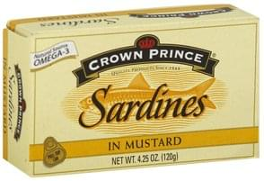 Crown Pre Sardines in Mustard