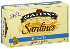 Crown Pre Sardines in Water