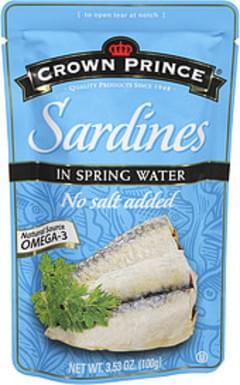Crown Prince Sardines In Spring Water