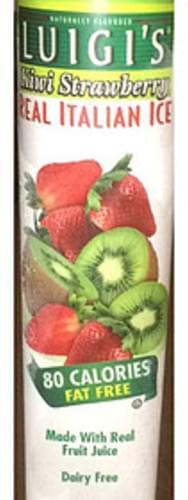 Luigi's Kiwi Strawberry Italian Ice