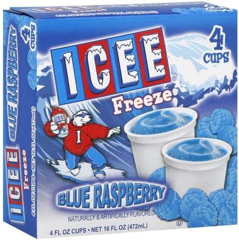 ICEE Blue Raspberry Freeze - 4 ea