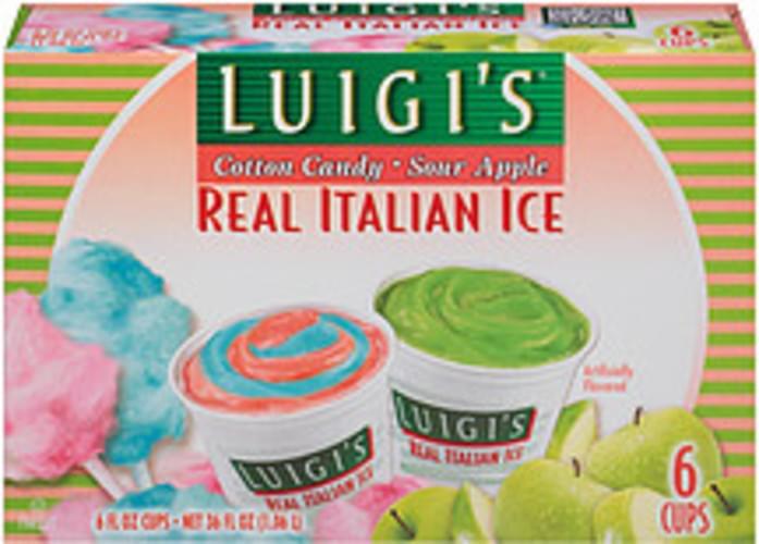Sour Apple Real Italian Ice