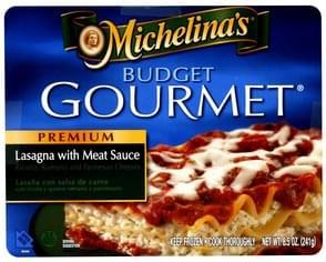 Budget Gourmet Premium Lasagna With Meat Sauce