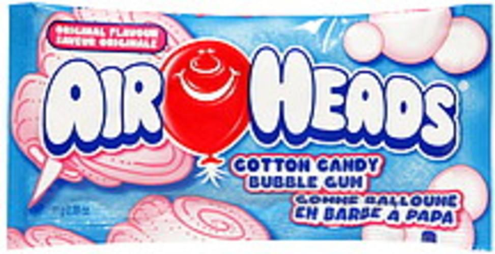 Air Heads Cotton Candy, Original Flavor Bubble Gum - 0 39 oz
