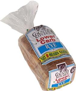 Country Kitchen Rye Bread Lower Carb