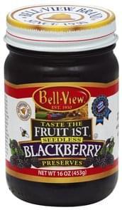 Bell View Preserves Blackberry, Seedless