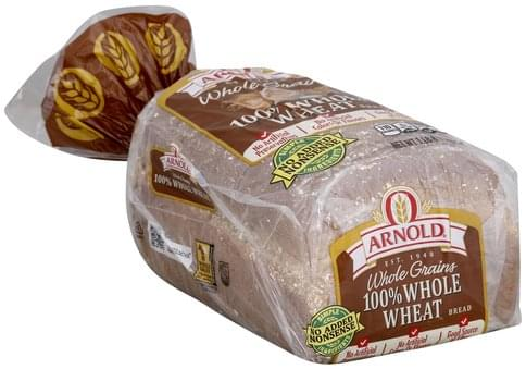 Arnold 100% Whole Wheat Bread - 1 lb