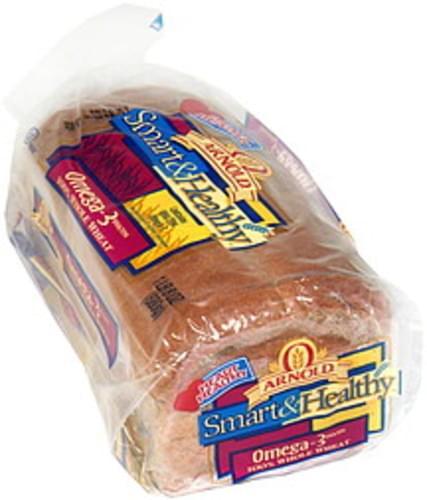 Arnold 100% Whole Wheat Bread, Omega-3