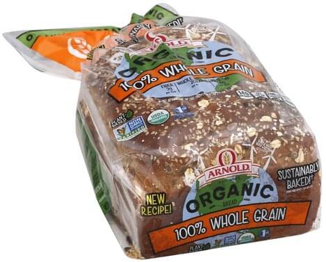 Arnold Organic, 100% Whole Grain Bread