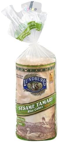 Lundberg Sesame Tamari Rice Cakes - 9 oz