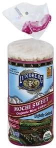 Lundberg Rice Cakes Organic, Mochi Sweet, Lightly Salted