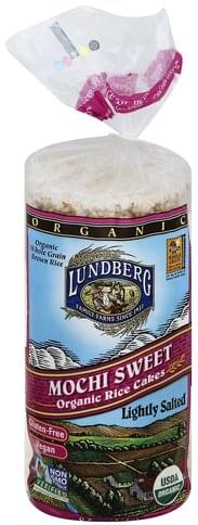 Lundberg Organic, Mochi Sweet, Lightly Salted Rice Cakes - 8.5 oz