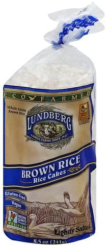Lundberg Brown Rice Rice Cakes - 8.5 oz