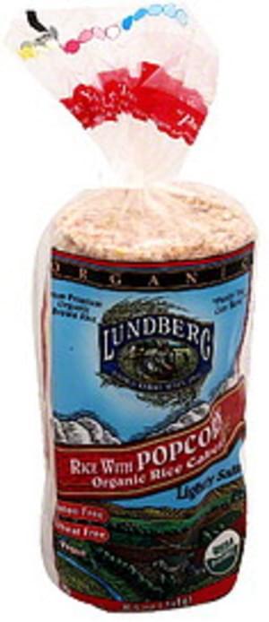 Lundberg Organic, Rice with Popcorn, Lightly Salted Rice Cakes - 8.5 oz