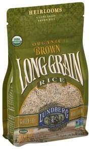 Lundberg Brown Rice Long Grain, Organic