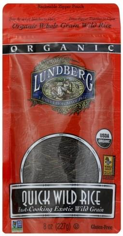 Lundberg Quick Wild Rice - 8 oz