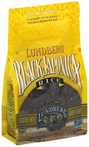 Lundberg Black Japonica Rice - 16 oz