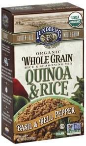 Lundberg Quinoa & Rice Basil & Bell Pepper