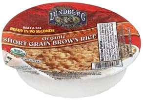 Lundberg Brown Rice Organic, Short Grain
