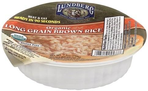 Lundberg Long Grain, Organic Brown Rice - 7.4 oz