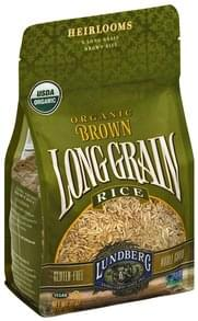 Lundberg Brown Rice Organic, Long Grain