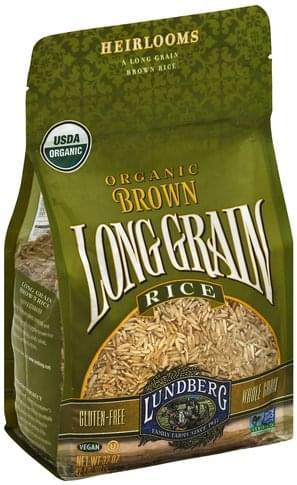 Lundberg Organic, Long Grain Brown Rice - 32 oz